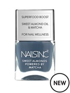 Nails inc spring range in Sweet Almonds powered by Matcha