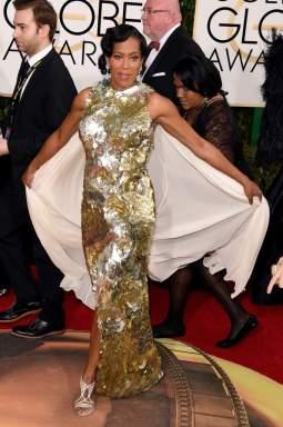 Regina King wears Krikor Jabotian at the Golden Globes 2016